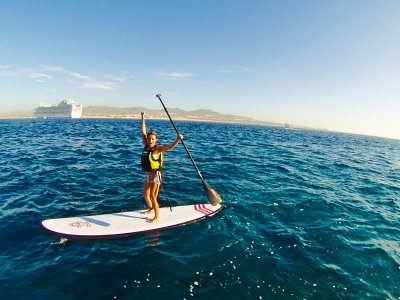 Bono 3 clases paddle surf Playa Heliópolis 90min