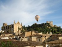 Flying over Mallorca