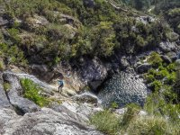 Canyoning in places of great beauty