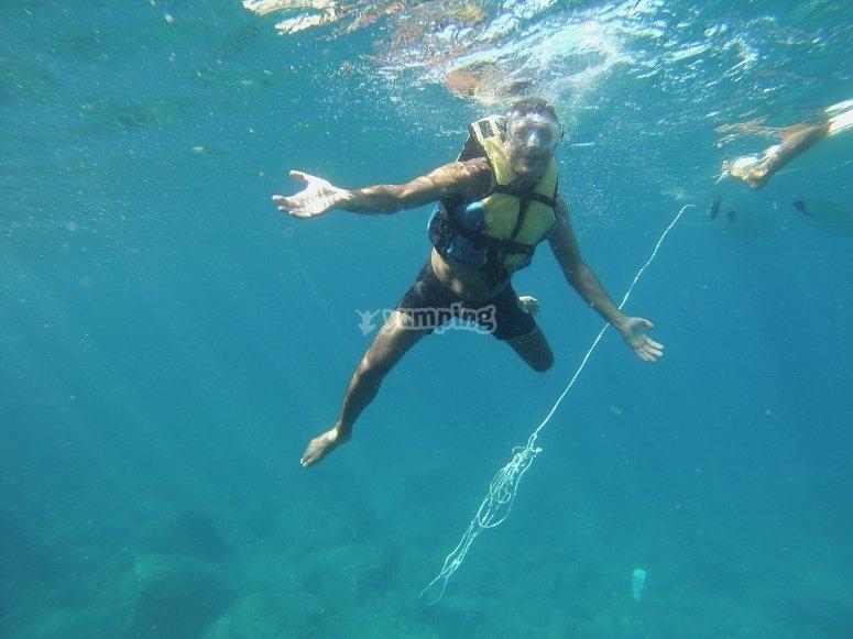 Ruta de snorkel por Los Cristianos