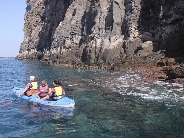 Ruta de kayak por Tenerife