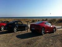 Conducir un Ferrari en carretera
