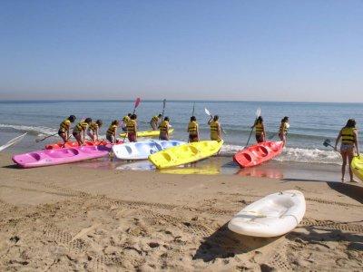 Campamento verano Multideporte Playa Heliópolis 1d