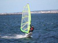 Clase de windsurf en bahía de Baiona 2 horas