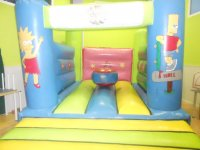 Bouncy castle of the Simpsons
