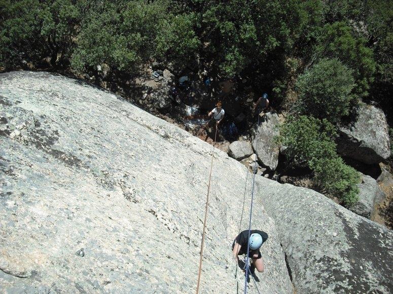 Climbing day