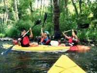 Time for kayaking
