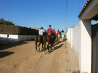 multi-day horse riding routes