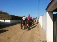 rutas de varios dias a caballo
