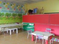 儿童房的彩色标识