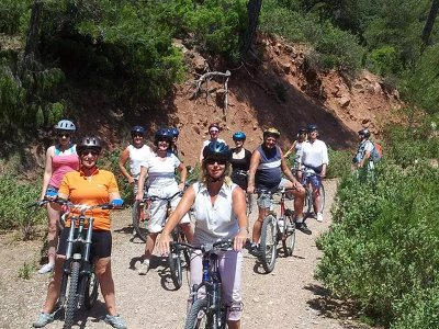 午餐时间,穿越塞拉利昂山脉的山地自行车路线(儿童)3小时