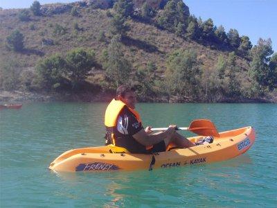 穆拉切尔瓦水库中的皮划艇路线