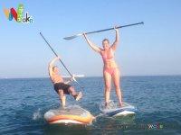 Diversión con el paddle surf