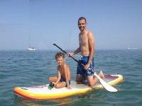 Padre e hijo en la tabla de SUP
