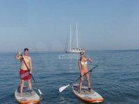 Ruta de paddle surf en pareja
