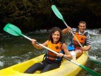 Ruta en canoa con álbum de fotos por el río Deva