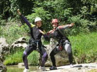 Canyoning in Álava