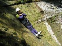 Slides in the ravine