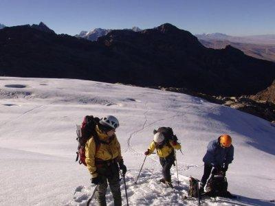 Escalada Guiada Raquetas de Nieve