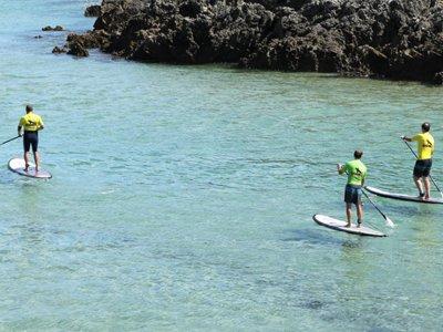 Noleggio dell'attrezzatura completa per il paddle surf Celorio 1h