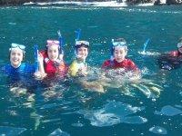 Snorkel en la isla de Tenerife