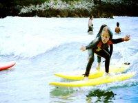 Surf courses for children