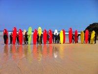 Surf per gruppi llanes
