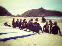 Surfcamp in Llanes