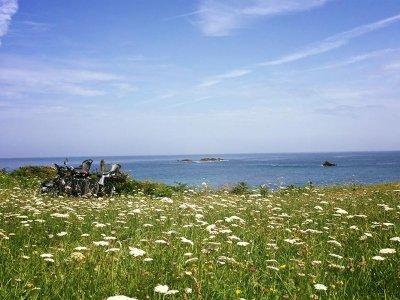 Percorso MTB lungo la costa e i villaggi di Llanes 4 ore