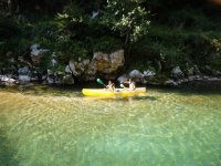Ruta en canoa por el río Cares con fotos 2 horas