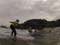 Surf in Llanes