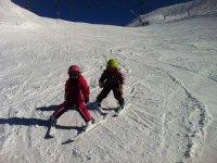 级的滑雪场,为孩子们滑雪