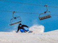 壮观的滑雪雪最好的滑雪课程logoactivearan
