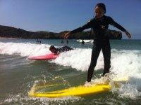 children's surfing