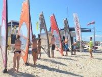 Bono alquiler de equipo de windsurf en Es Pujols