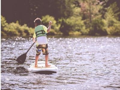 Alquilar paddle surf por el Embalse de Las Vencías