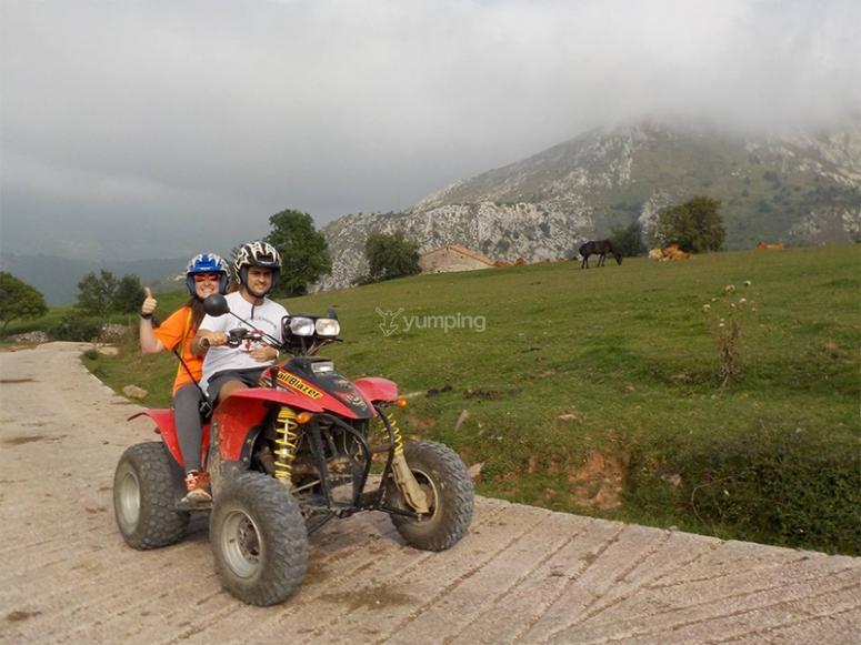 Paseo en quad biplaza por el Pico Peñamera