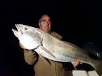 Pesca nocturna en Huelva