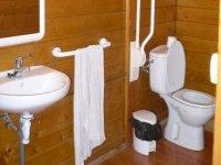 servizi igienici per i partecipanti