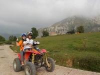 Ruta quad biplaza alrededores Picos de Europa 1 h