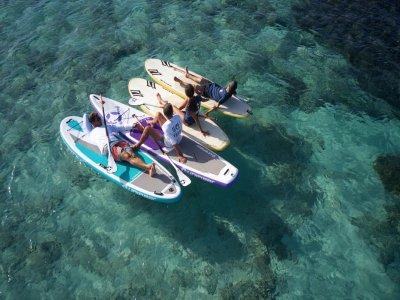 Ruta de paddel surf a Punta Prima y Cala Embaster