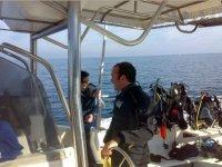 达到我们的船潜的一天