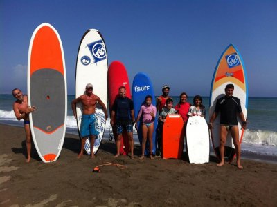 Aprender surf en Torremolinos 2 días