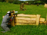 Paintball game in terreno naturale a Llanes