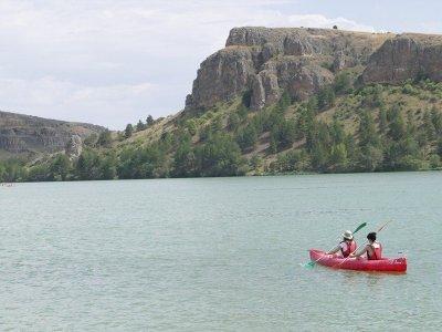 Alquiler de canoa Lago Bar La Serranilla 1h