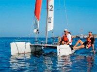 Clases privadas de vela en la Bahía de Es Pujols