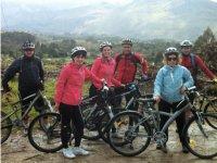 Percorso BTT lungo il sentiero asturiano