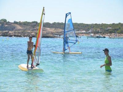 Curso de windsurf en Es Pujols 5 días Adultos