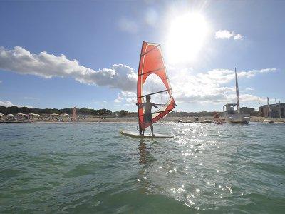 Curso de windsurf en Es Pujols 3 días Niños