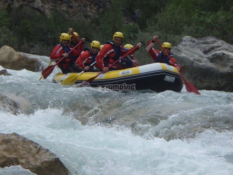 Rafting in Cuenca